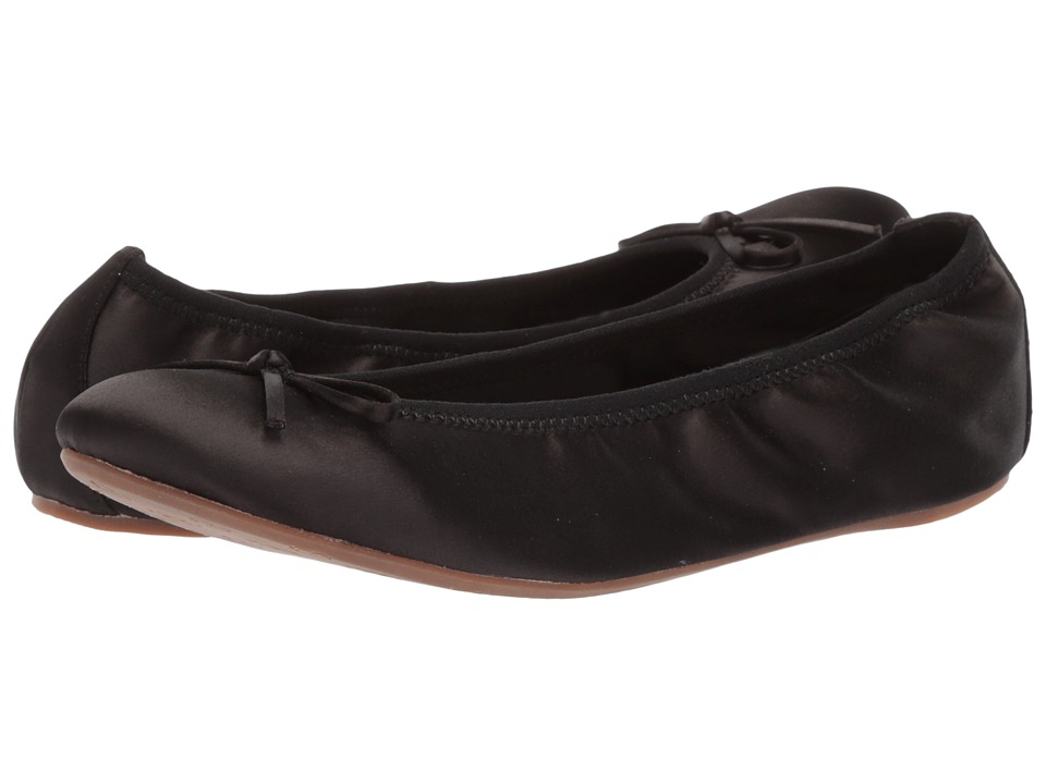 L.K. Bennett Bia Zappos Exclusive (Black Satin) Women