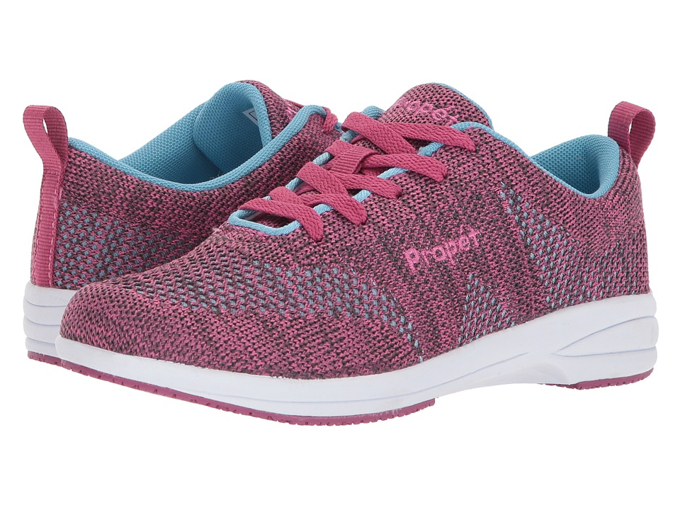 Propet Washable Walker Evolution (Berry/Blue) Women's Shoes