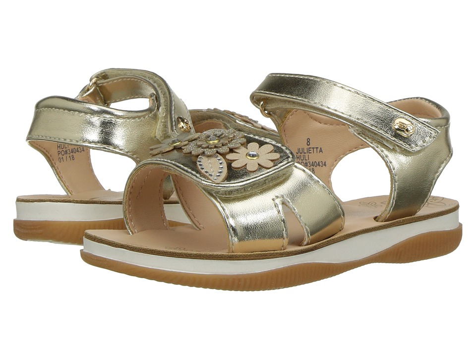 Naturino Express - Julietta (Toddler/Little Kid) (Gold) Girls Shoes