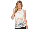 ALO ALO Vixen Fitted Muscle Tank Top