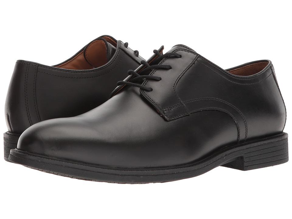 Johnston & Murphy - XC4(r) Waterproof Hollis Plain Toe (Black Waterproof Full Grain) Mens Plain Toe Shoes