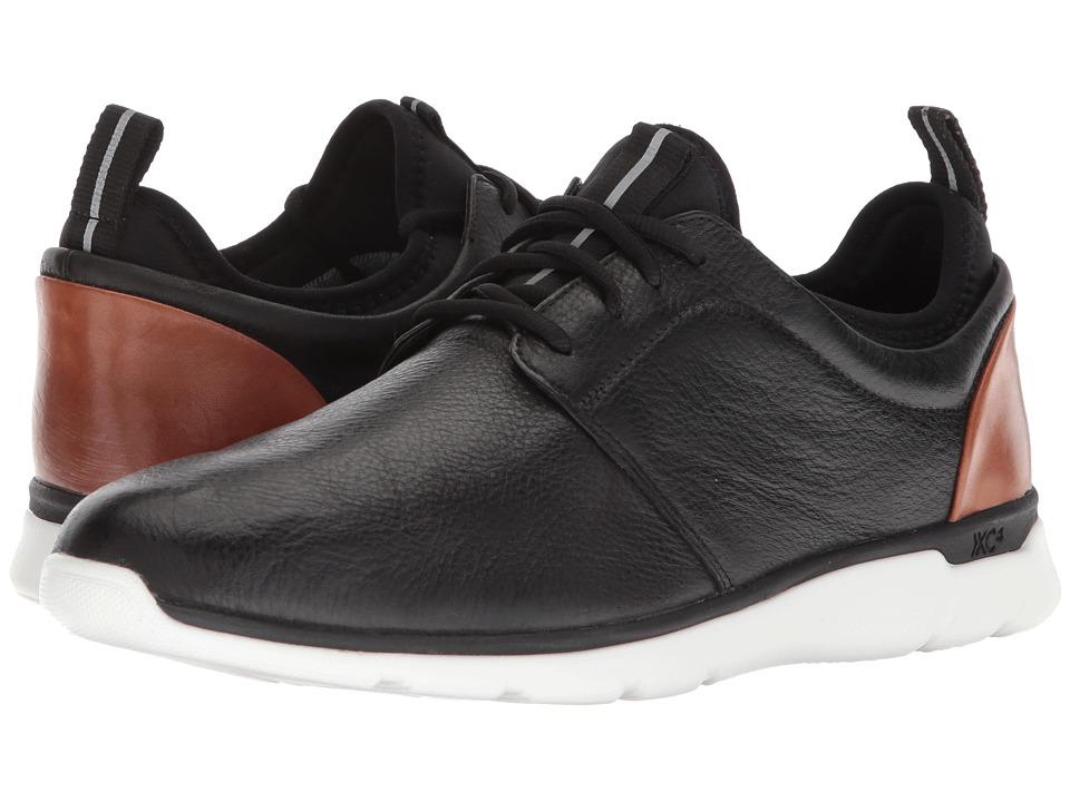 Johnston & Murphy - Prentiss Plain Toe (Black Waterproof Full Grain) Mens  Shoes