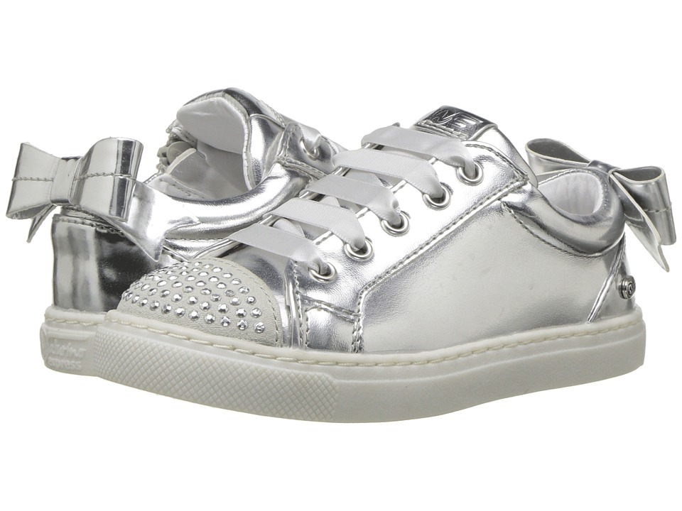 Naturino Express - Rosella (Toddler/Little Kid) (Silver) Girls Shoes