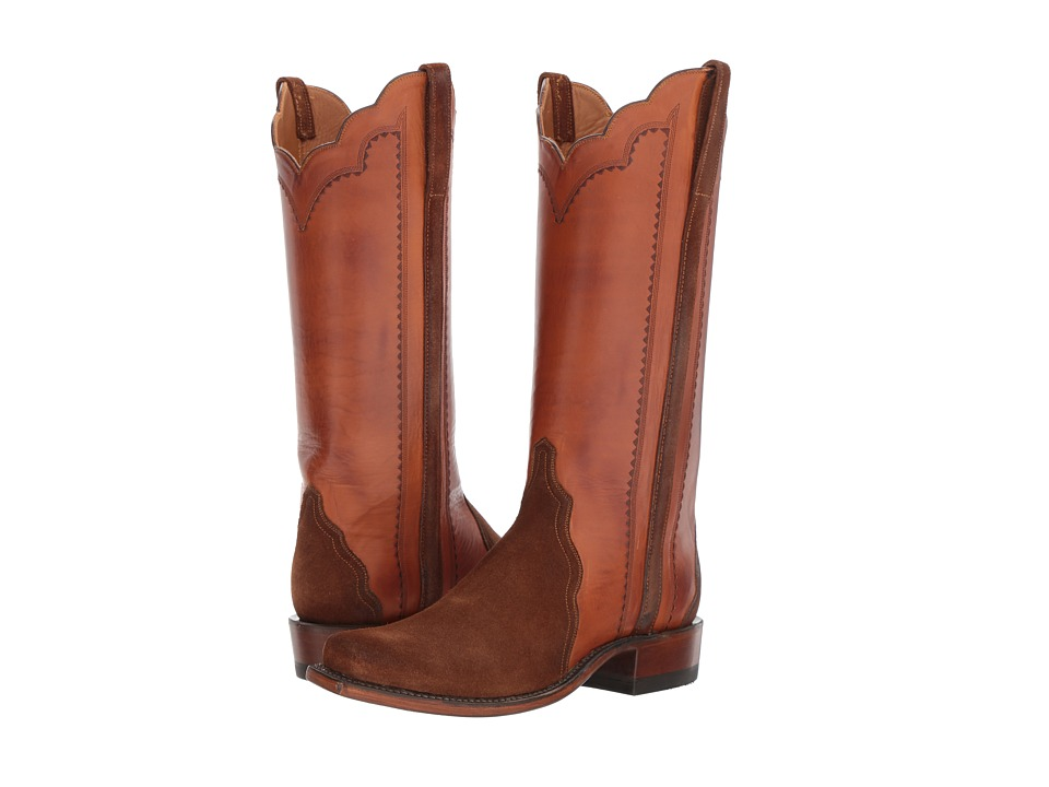 Lucchese Shannon (Medium Brown) Cowboy Boots