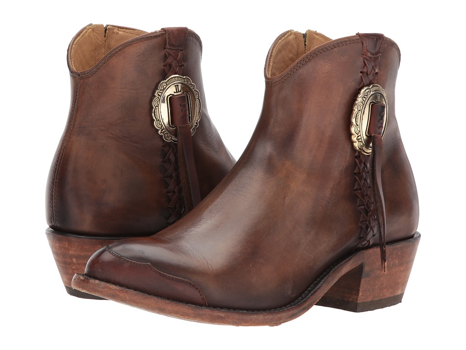Lucchese Isabel (Antique Saddle Leather) Cowboy Boots