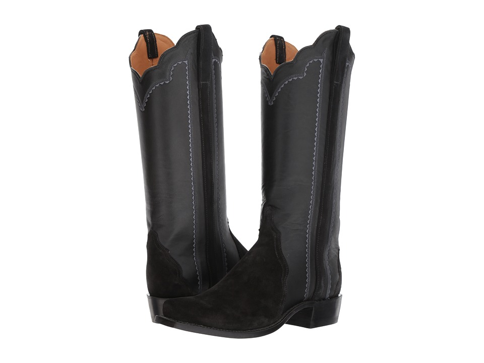 Lucchese Shannon (Black) Cowboy Boots