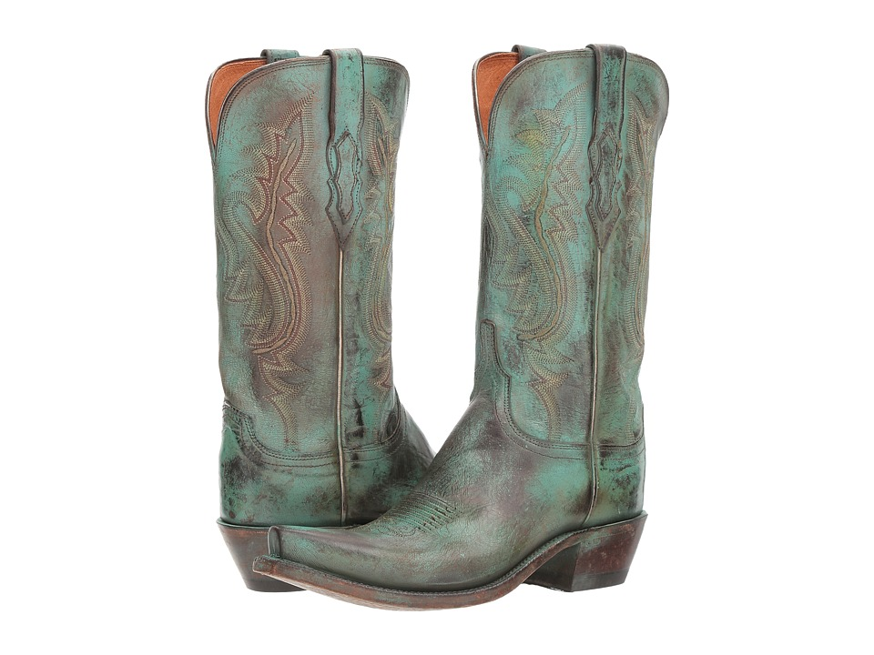 Lucchese Wynonna (Antique Turquoise) Cowboy Boots