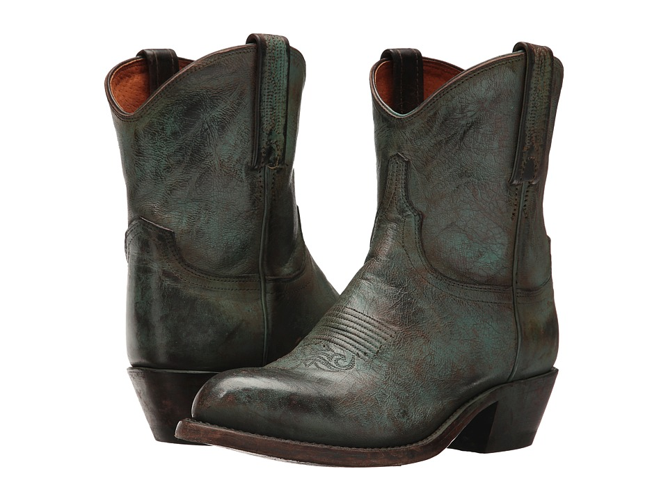 Lucchese Wyly (Antique Turquoise) Cowboy Boots