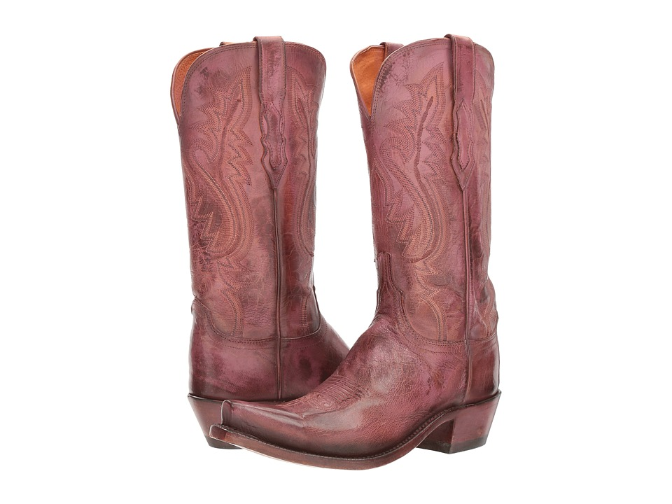 Lucchese Wynonna (Antique Pink) Cowboy Boots