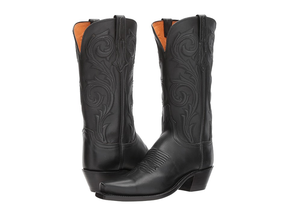 Lucchese - Nicole (Black) Womens Shoes
