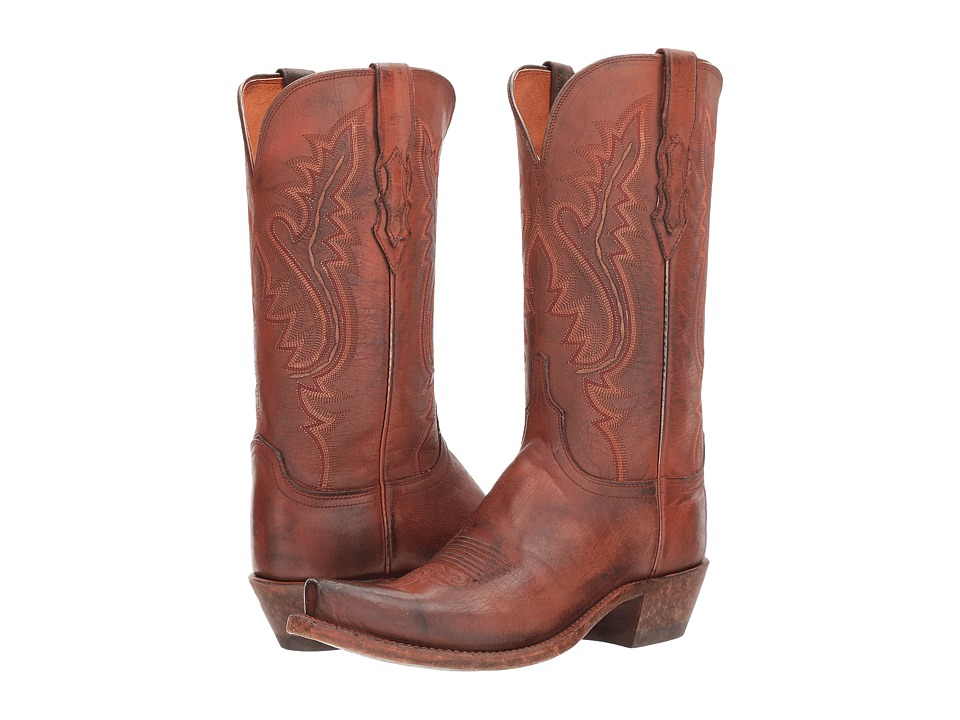 Lucchese Wynonna (Antique Coral) Cowboy Boots