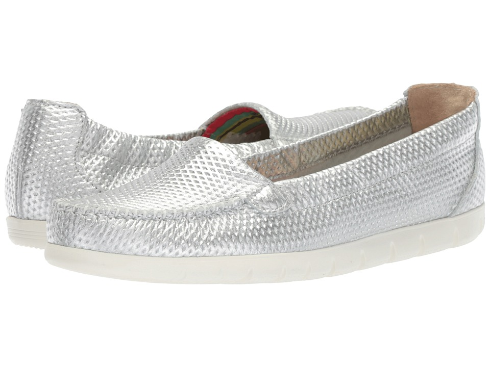 SAS Sunny (Silver) Women's Shoes