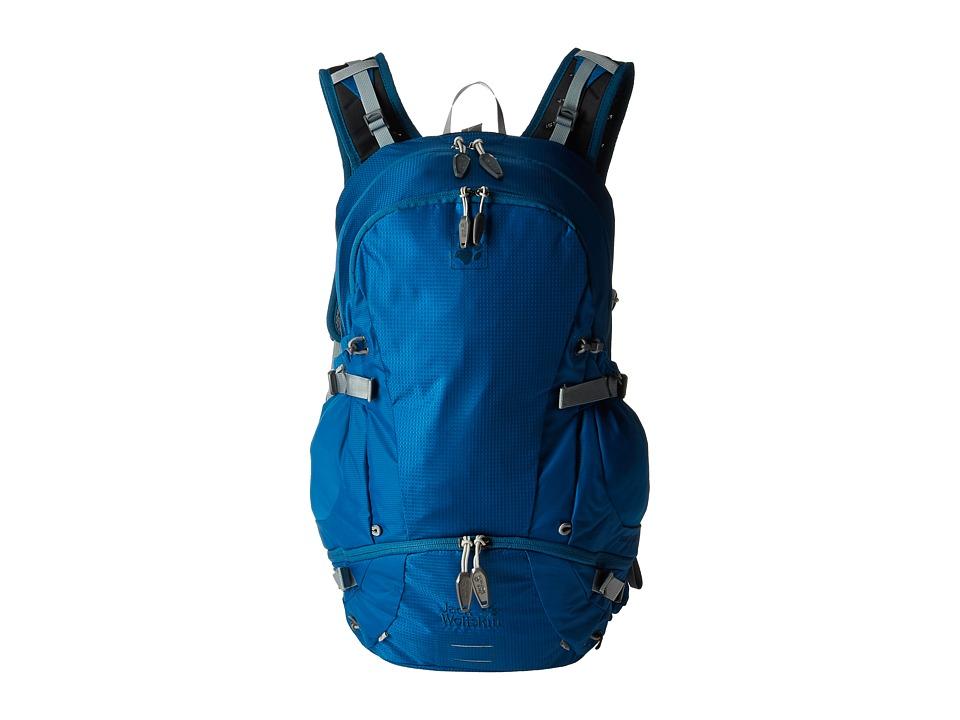 Jack Wolfskin - Moab Jam 30 (Glacier Blue) Backpack Bags