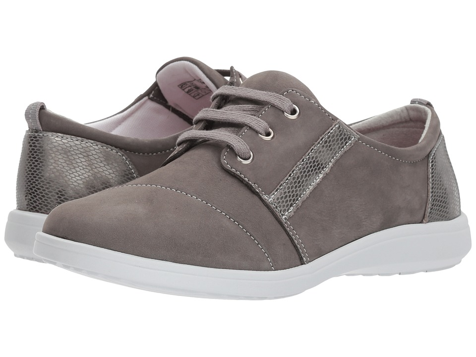 SAS - Marnie (Gris/Snake) Womens Lace up casual Shoes