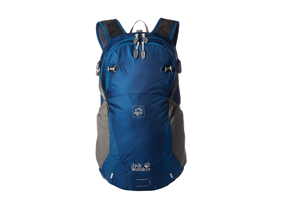 Jack Wolfskin - Moab Jam 24 (Poseidon Blue) Backpack Bags