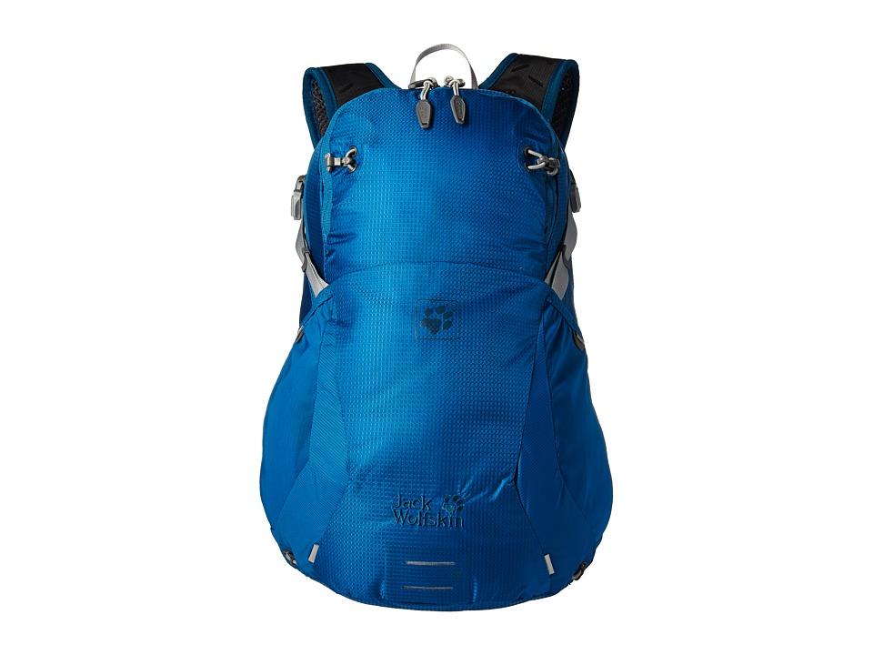 Jack Wolfskin - Moab Jam 18 (Glacier Blue) Backpack Bags