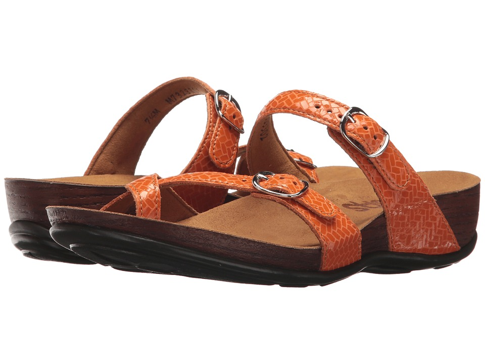 SAS Shelly (Weave Clementine) Women's Shoes