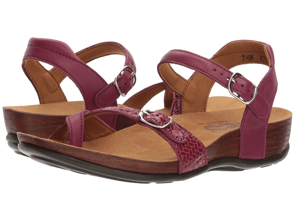 SAS Pampa (Plum Weave) Women's Shoes