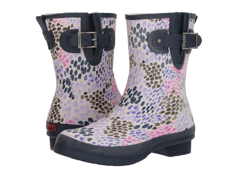 Chooka Tillie Mid Rain Boots (Navy) Women