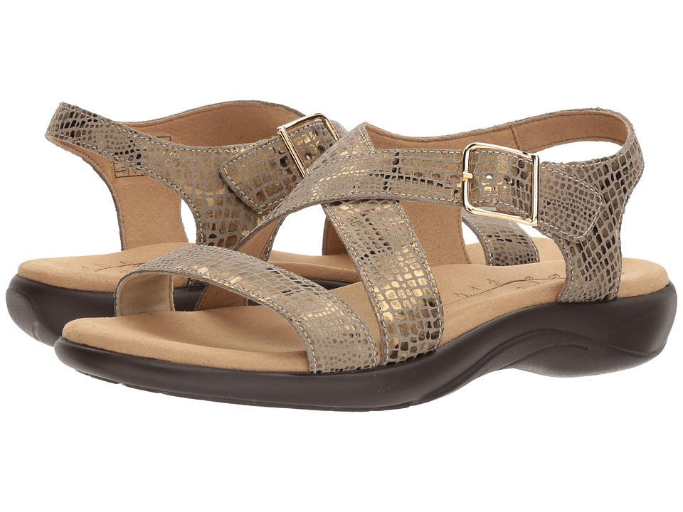 SAS - Laguna (Olive Gold) Women's Sandals