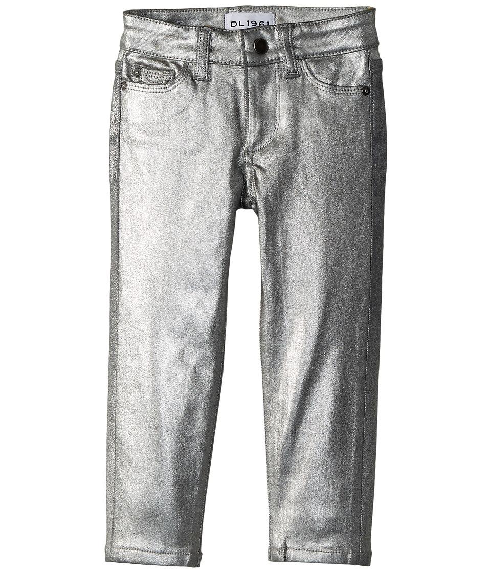 DL1961 Kids Chloe Skinny Jeans in Silverado (Toddler/Little Kids) (Silverado) Girl