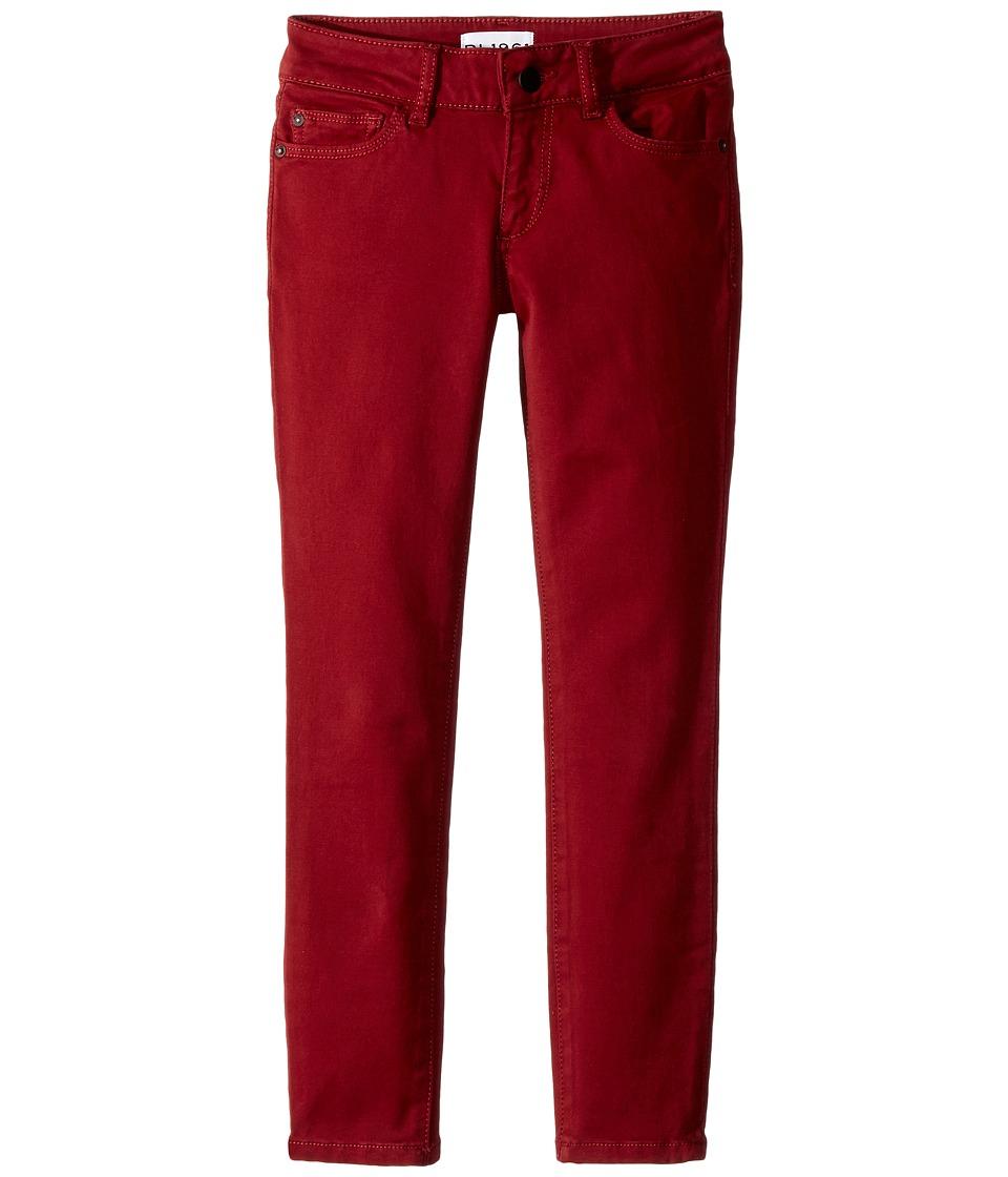 DL1961 Kids Chloe Skinny Jeans in Rhubarb (Big Kids) (Rhubarb) Girl