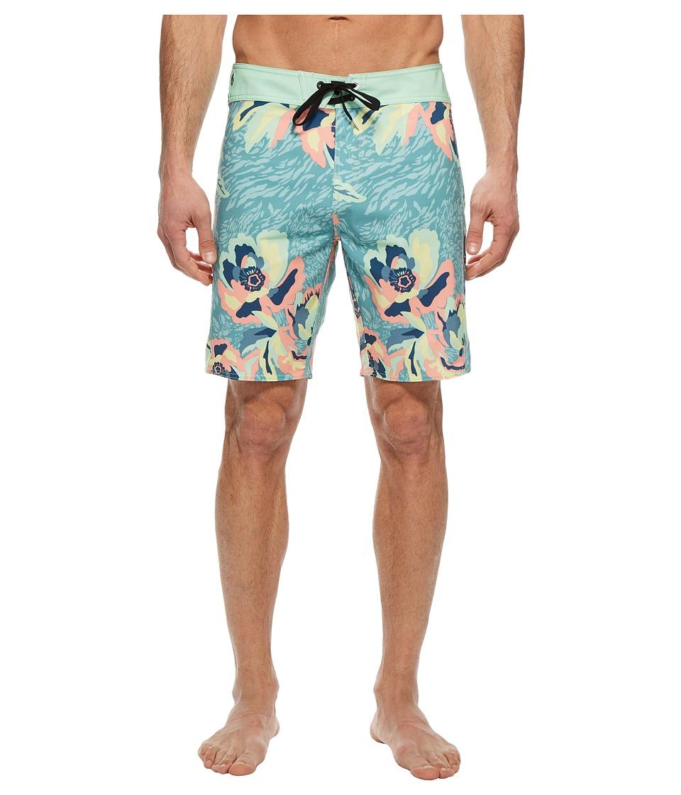 Volcom Cubano Boardshorts (Sea Blue) Men