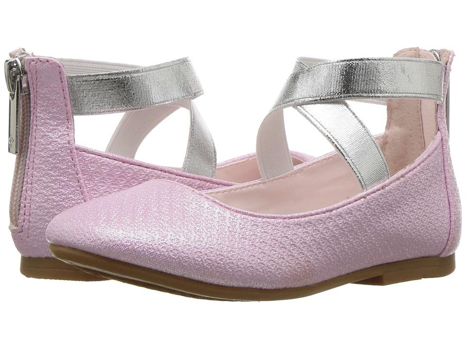 Kids 1950s Clothing & Costumes: Girls, Boys, Toddlers Nina Kids - Marissa ToddlerLittle KidBig Kid Light Pink Girls Shoes $44.99 AT vintagedancer.com