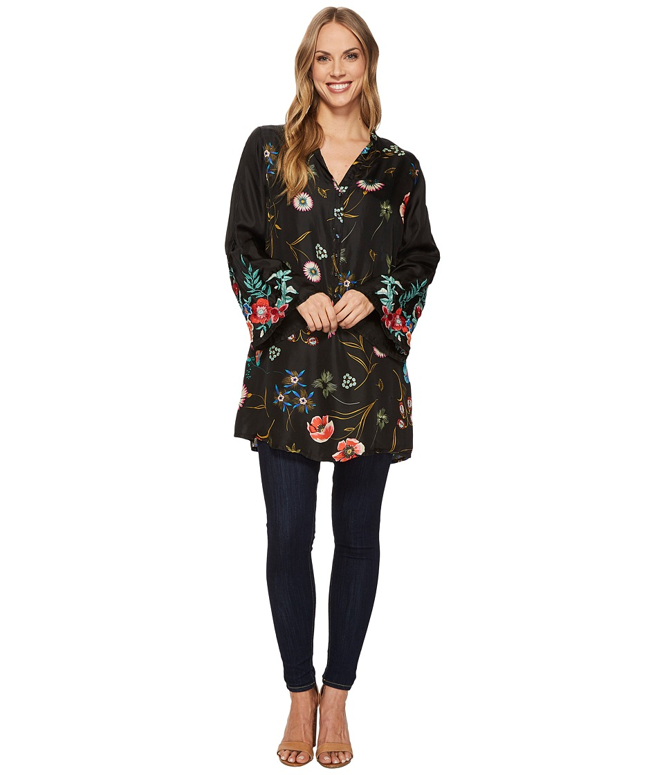 Johnny Was - Lentino Bell Sleeve Embroidered Tunic