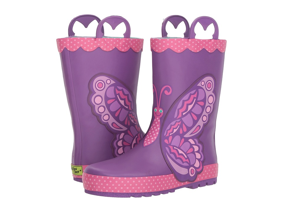 Western Chief Kids - Betty Butterfly Rain Boot (Toddler/Little Kid/Big Kid) (Purple) Girls Shoes