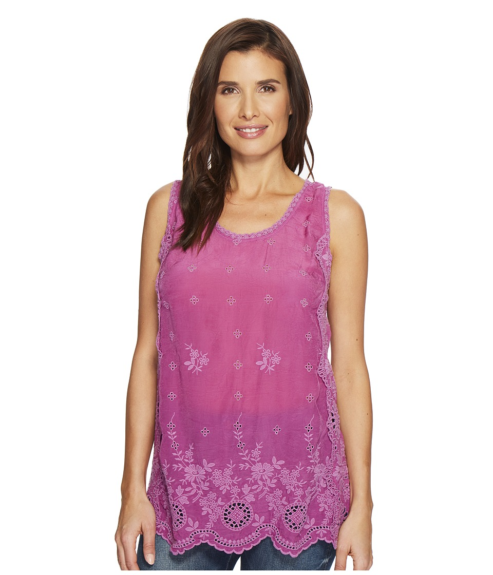 Johnny Was - Kobi Tank Top (Dark Orchid) Womens Sleeveless