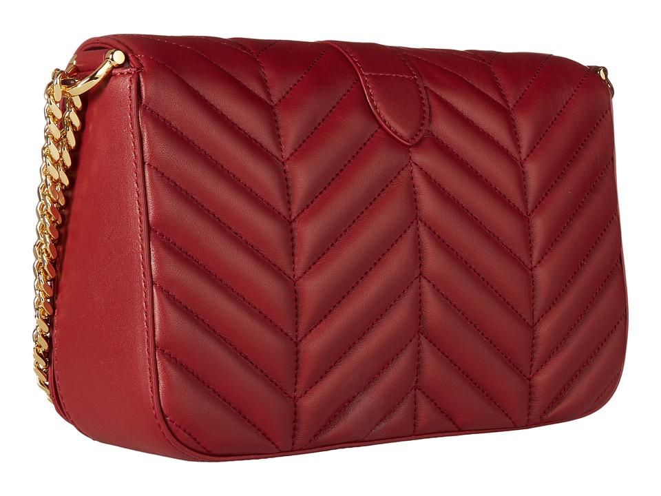 26784d5ec6 Info Lauren Ralph Lauren - Carrington Brenda Medium Shoulder (vermillion)  Handbags