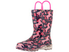 Western Chief Kids Glitter Horse Lighted Rain Boot (Toddler/Little Kid)