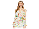 Johnny Was Fusion Cold Shoulder Blouse