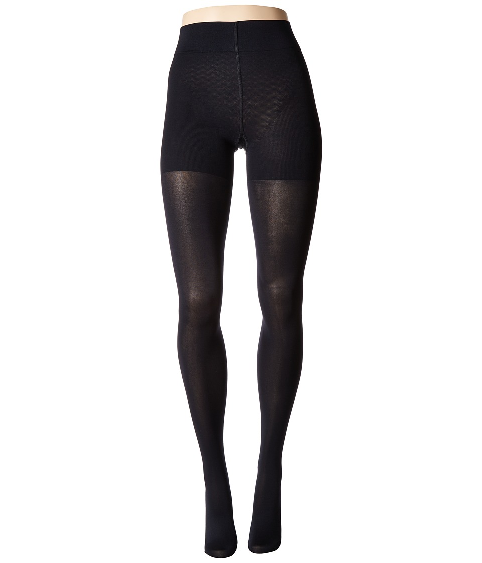 Wolford - Velvet de Luxe 66 Control Top Tights (Admiral) Fishnet Hose