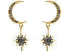 Vince Camuto Celestial Skies Crescent and Star Drop Earrings