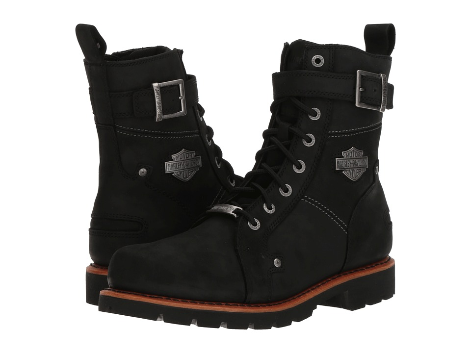 Harley-Davidson - Wickson (Black) Mens Lace-up Boots