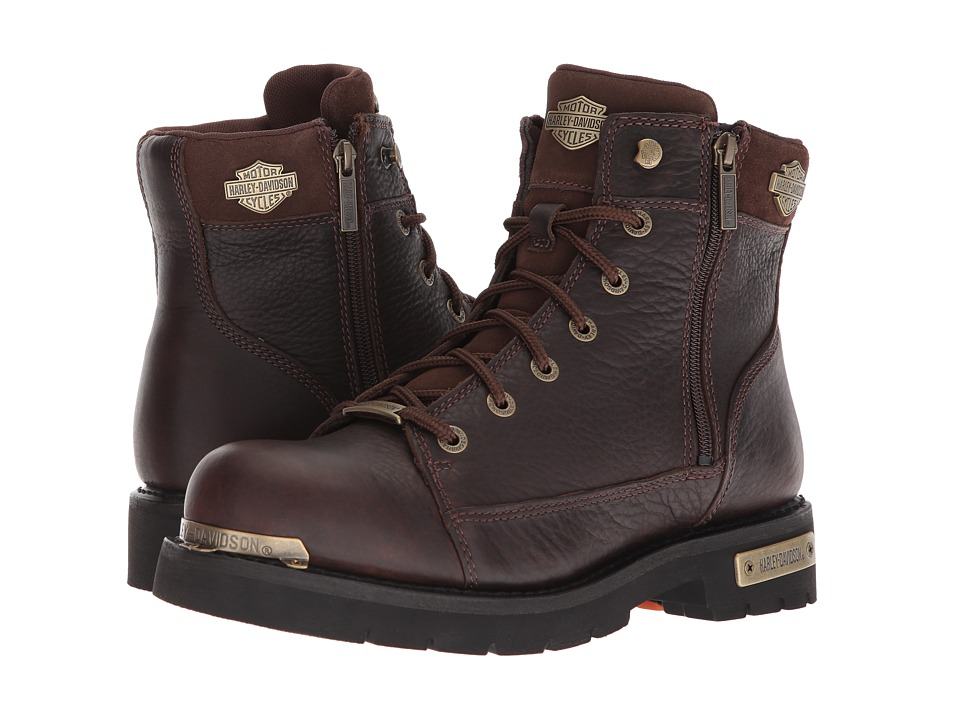 Harley-Davidson - Chipman (Brown) Mens Lace-up Boots