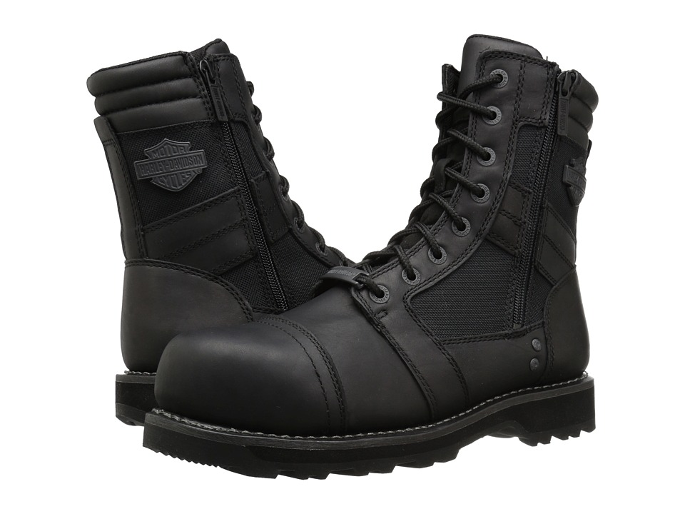 Harley-Davidson - Boxbury Composite Toe (Black) Mens Lace-up Boots