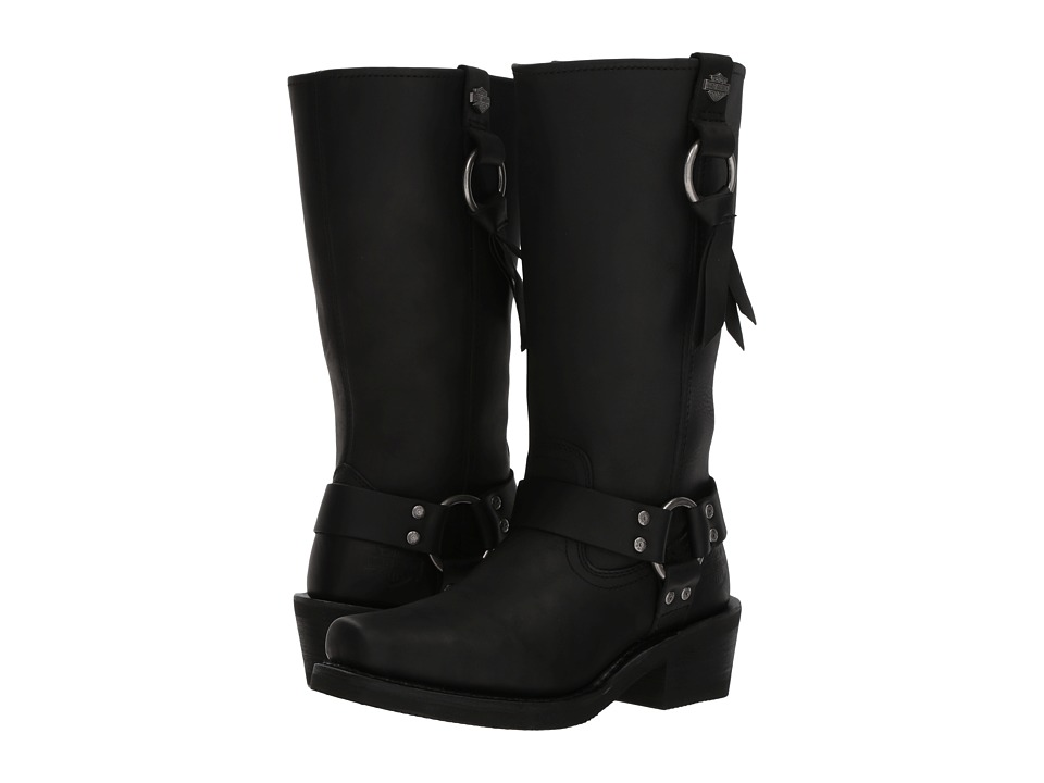 Harley-Davidson - Fenmore (Black) Womens Pull-on Boots