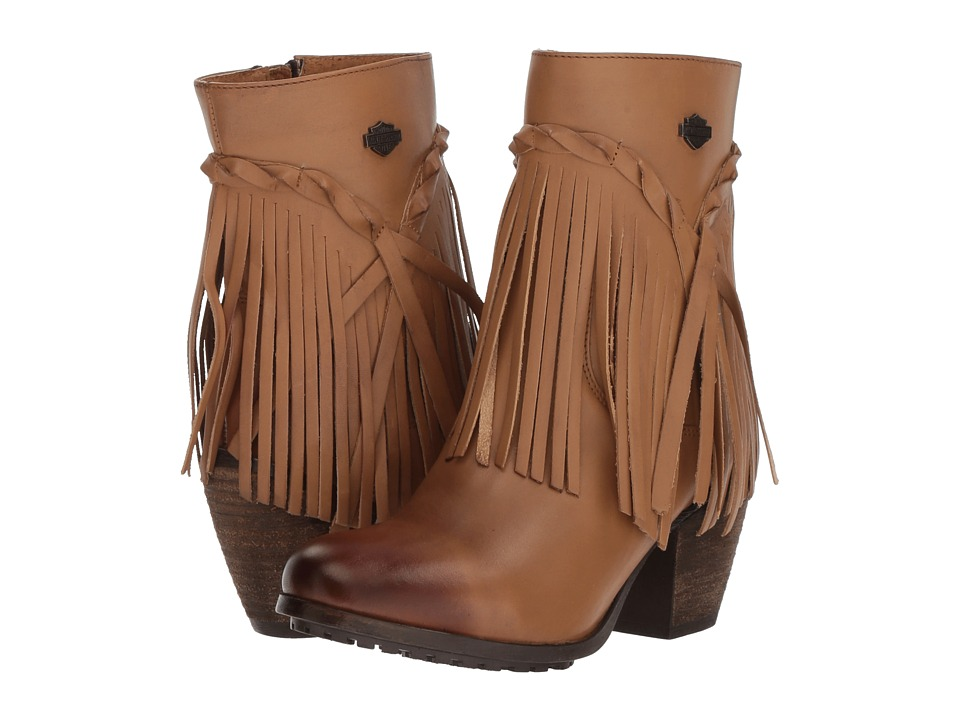 Harley-Davidson - Retta (Tan) Womens Pull-on Boots