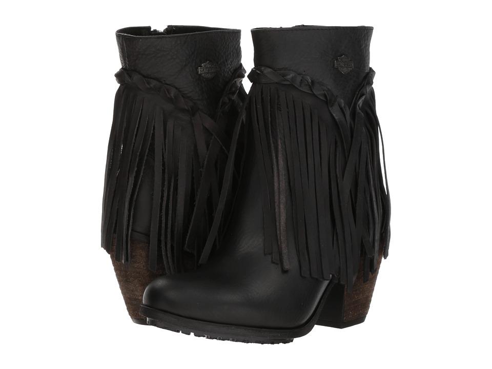 Harley-Davidson Retta (Black) Women's Pull-on Boots