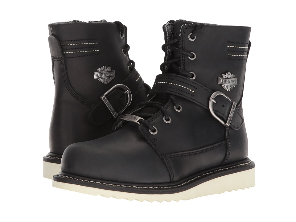 Harley-Davidson - Darton (Black) Womens Lace-up Boots