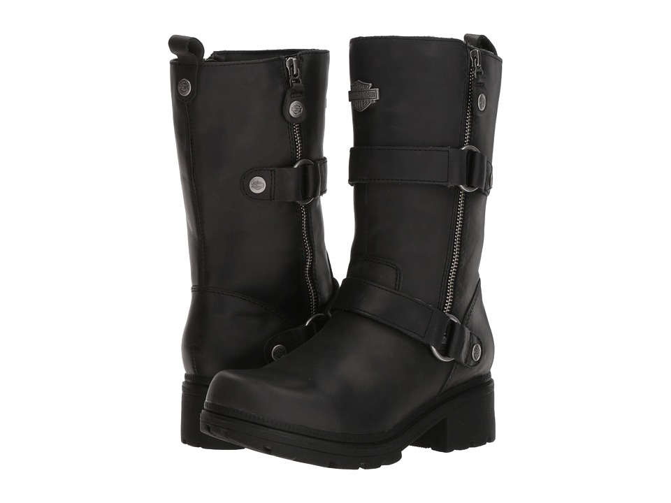 Harley-Davidson - Ardsley (Black) Womens Zip Boots