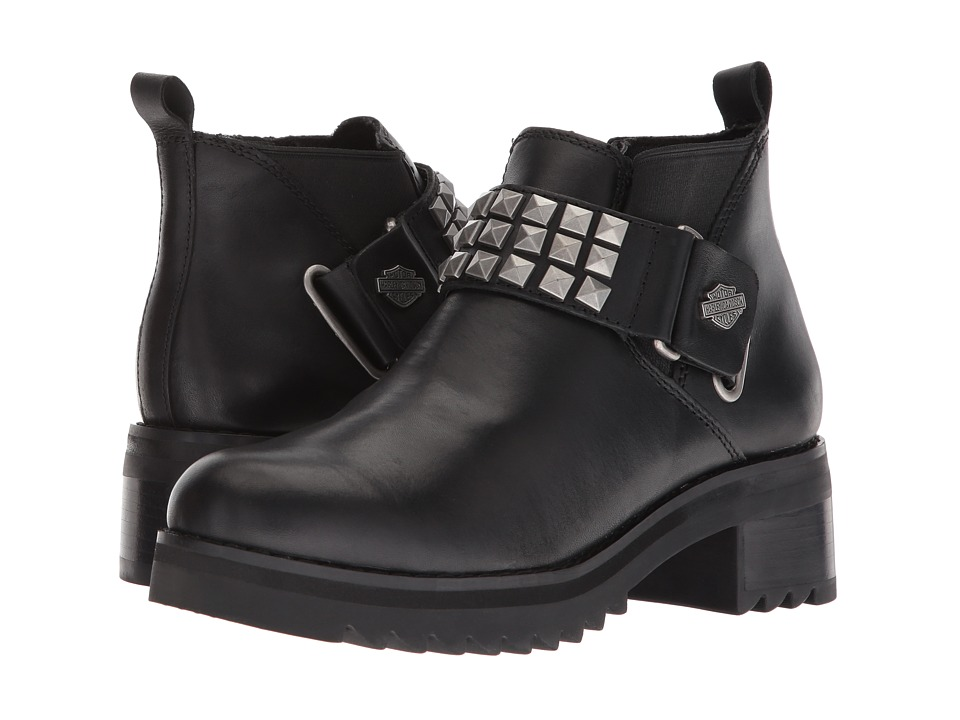 Harley-Davidson - Kemper (Black) Womens Pull-on Boots