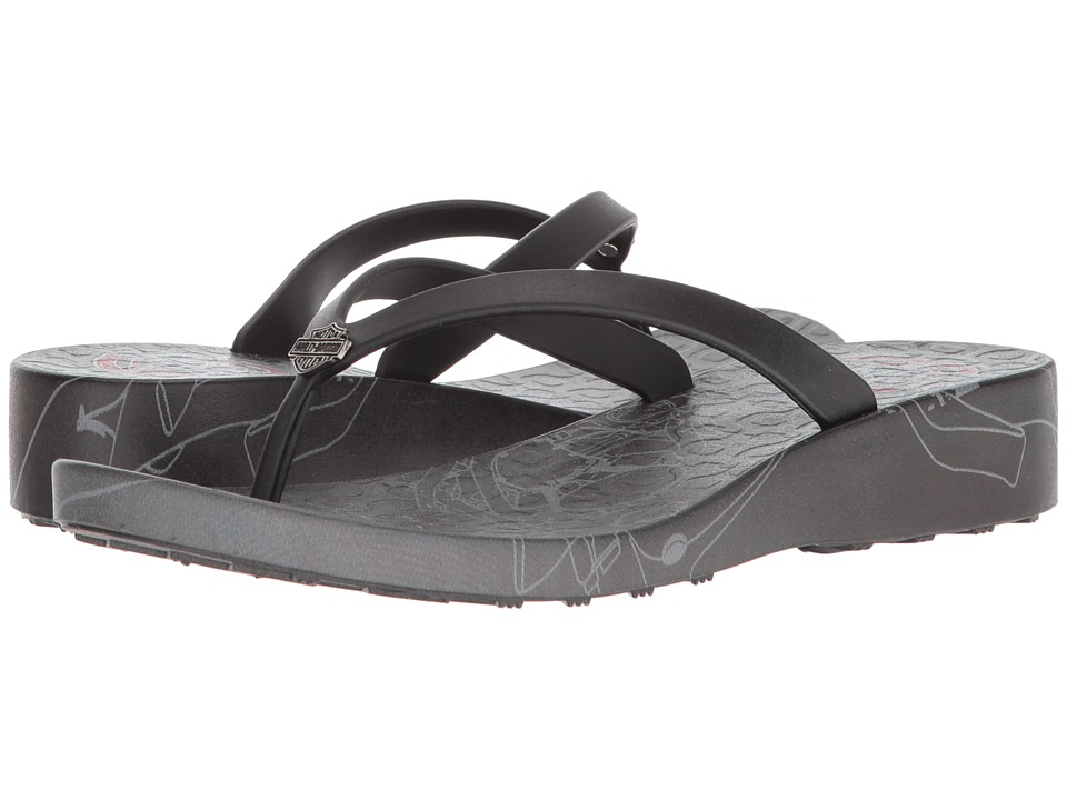 Harley-Davidson - Larnes (Black) Womens Sandals
