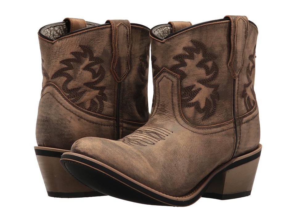 Laredo Sapphrye (Tan) Cowboy Boots