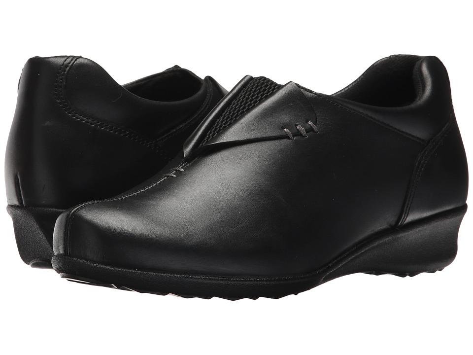 Drew Naples (Black Leather) Women's Shoes