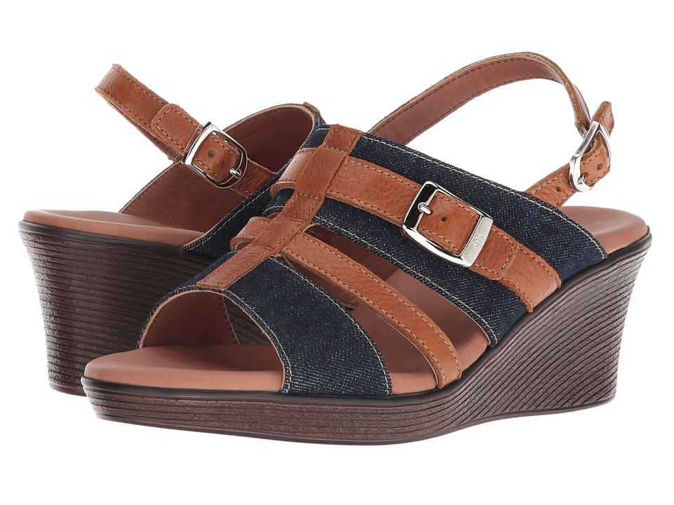 SAS Layla (Blue Jean) Wedges