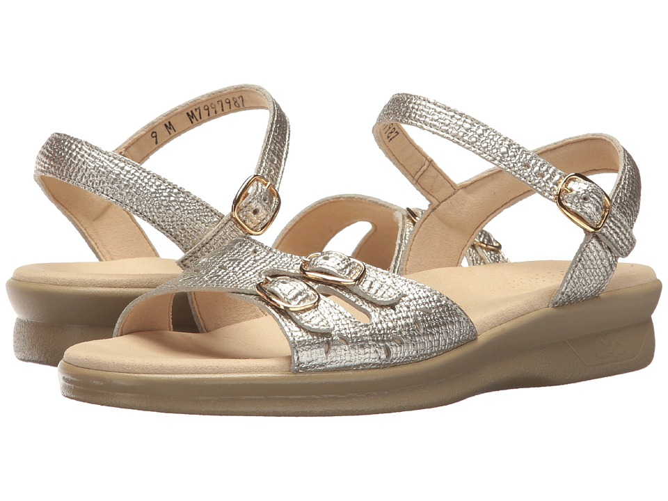 SAS Duo (Gold Linen) Women's Shoes